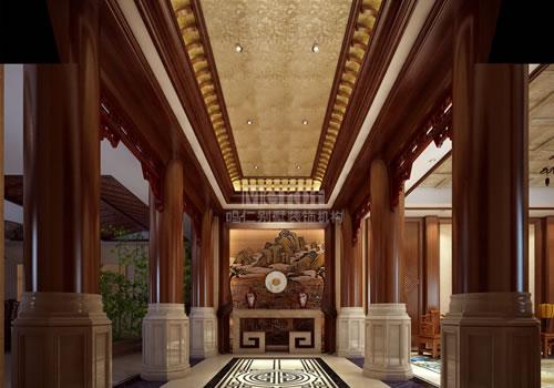 聆听别墅装修中式风格的玄妙之音